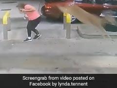 Deer Jumps Over Woman, Kicks Her Head In Shocking Video