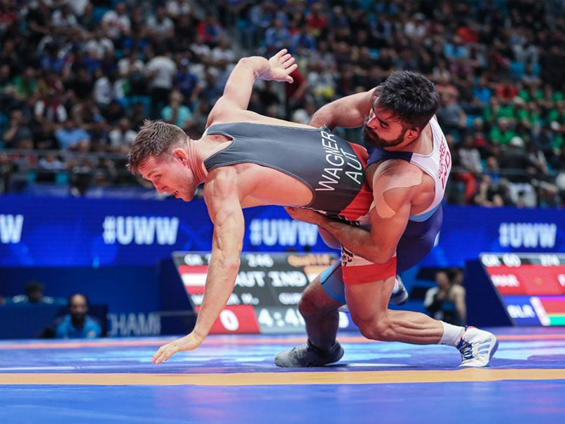 World Wrestling Championships: Gurpreet Singh Fights Hard, Naveen Stays In Medal Contention