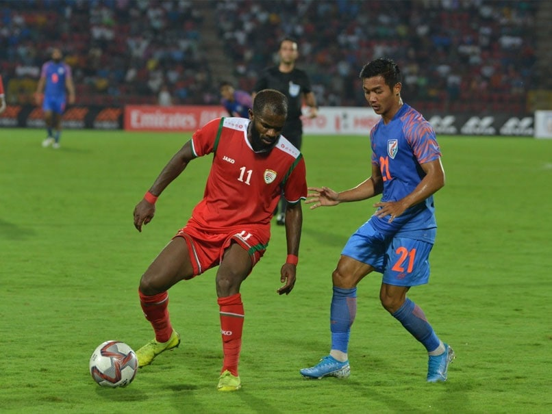 World Cup 2022 Qualifiers: Sunil Chhetris first-half strike goes in vain, Oman beat India