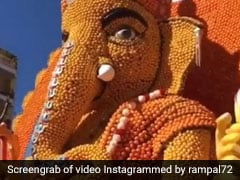 Ganesh Chaturthi 2019: Arjun Rampal Shares Video Of Ganesha Idol Made Of Oranges In Holland