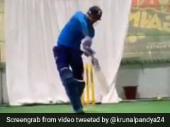 "Watch: Krunal Pandya ""Gets Into The Groove"" Ahead Of South Africa Series"