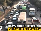 Video : Heavy Fines For Traffic Violations From Today