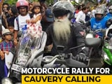 Video : Sadhguru's Bike Rally For Awareness On Threat To River Cauvery