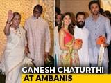 Video : Ganesh Chaturthi 2019 At Ambanis: Bachchans, Alia, Ranbir Lead Celeb Roll-Call