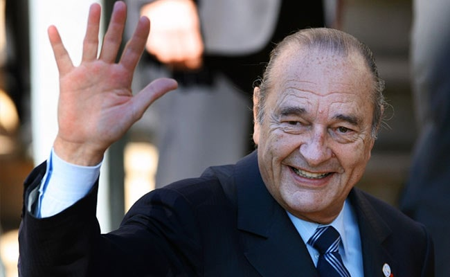 Ex-French President Jacques Chirac, Who Defied US On Iraq War, Dies At 86
