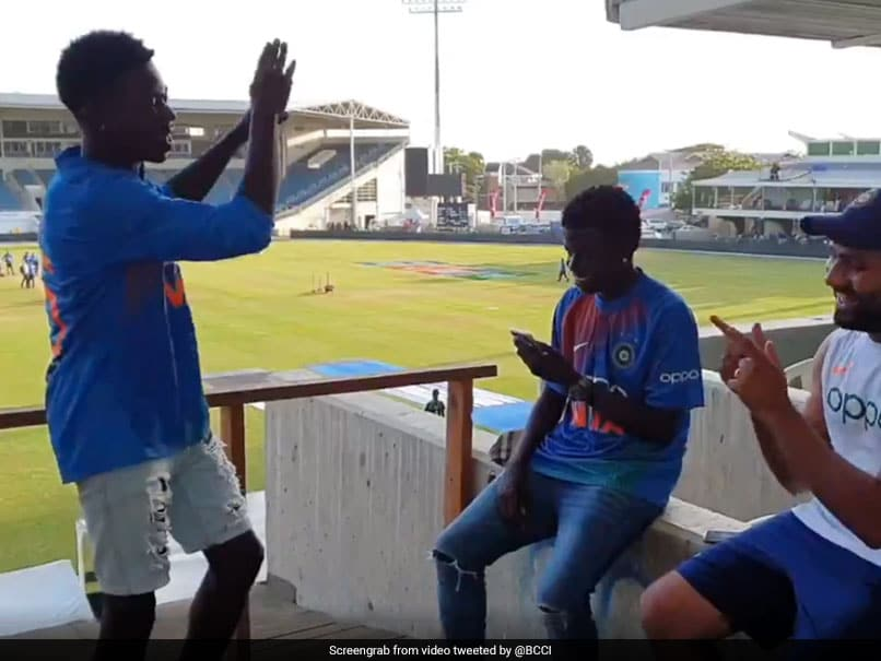Watch: Rohit Sharma Pulls Out Locals Fans From Crowd For Dance Show-Off After Series Win