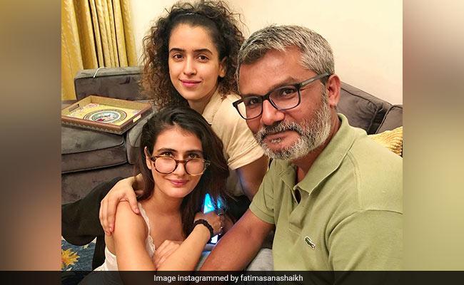 It Was A Dangal Reunion Of Sorts For Fatima Sana Shaikh, Sanya Malhotra And Nitesh Tiwari