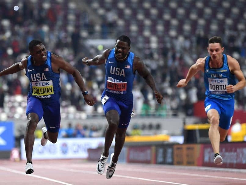 World Athletics Championships: Christian Coleman Roars To 100m Title, Race Walkers Tame Heat