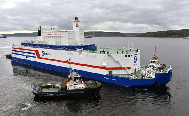Russia's World-First Floating Nuclear Plant Arrives In Port