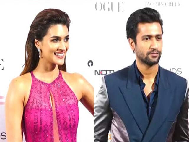 Vicky Kaushal And Kriti Sanon Add Glamour At Vogue Beauty Awards 2019