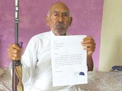 कभी डाकुओं के सरदार रहे मोहर सिंह ने लगाई प्रधानमंत्री से गुहार, बोले- 'मंदिर बचाओ'