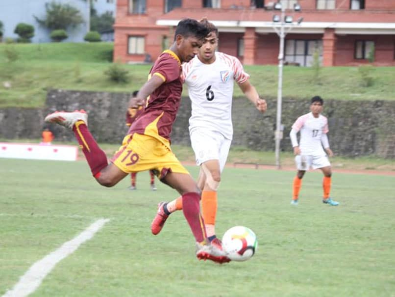Saff Under 18 Football: India reaches in semi Final by beating Sri Lanka