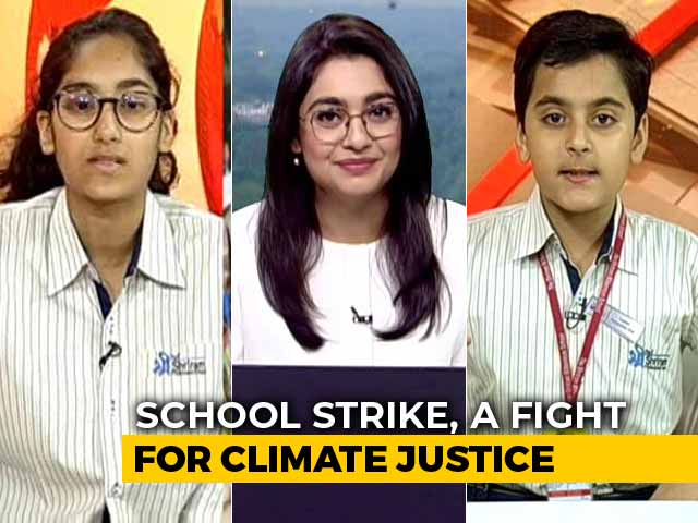 Video : Delhi Students Skip School, March For Climate