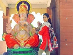 Ganesh Chaturthi 2019: Sara Ali Khan's Pic With Ganpati Is All About 'Laughter And Positivity'