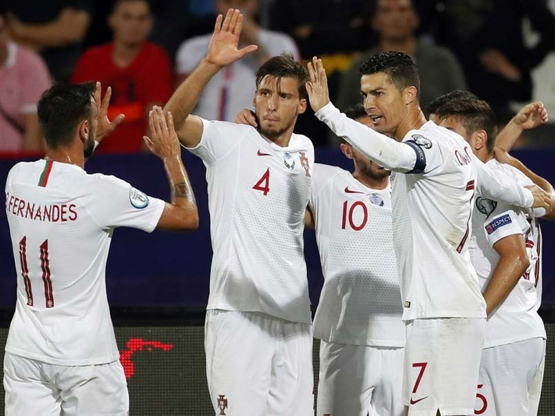 Portugal Beat Serbia To Claim First Euro 2020 Qualifying Win