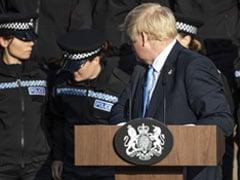 """Signal To Wind Up"": UK Police Cadet Faints During Boris Johnson's Speech"