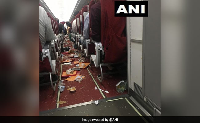 Air India Plane Struck By Thunder, Crew Members Injured