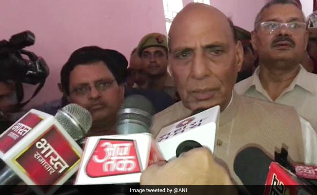 Did Not Rest For A Day In 100 Days, 'Incredible' Work Done: Rajnath Singh