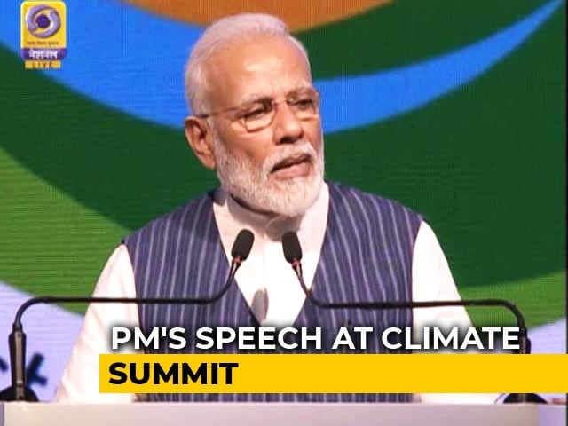 Video : PM Modi Calls For Global Water Action At UN Climate Meet Near Delhi