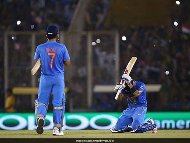 "MS Dhoni ""Made Me Run Like In Fitness Test"": Indian Skipper Virat Kohli Recalls ""Special Night"""