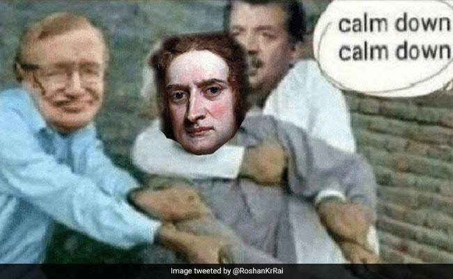 'Bhai Einstein': Twitter Imagines Newton's Reaction To Piyush Goyal Gaffe