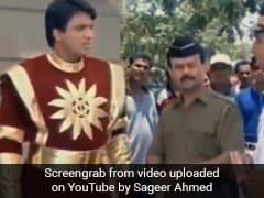 Shaktimaan का भी कट गया चालान, ट्रैफिक पुलिस ने थमा दी इतने रुपये की रसीद- देखें Video
