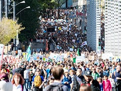 Half A Million Join Greta Thunberg At Montreal Climate Rally
