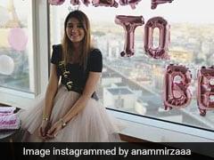 सानिया मिर्जा की बहन की पेरिस वाली तस्वीर हुई वायरल, पीछे लिखा दिखा- 'होने वाली दुल्हन...'