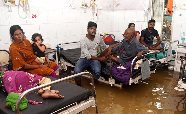 Jail Evacuated, Hospital Flooded After Heavy Rain In Uttar Pradesh, Bihar