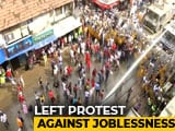 Video : Marching For Jobs, Left Front Workers Clash With Police In Howrah