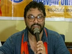 """In Power Because Of Police"": Babul Supriyo Attacks Mamata Banerjee"