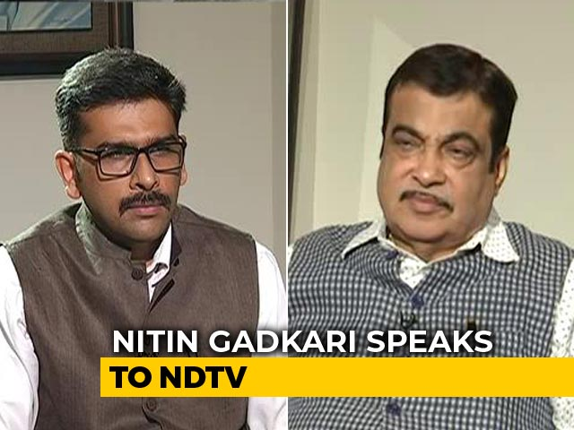 "Video : ""States Will Be Responsible"": Nitin Gadkari On Opposition To Road Fines"