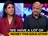 Video : The NDTV Dialogues With 'Experimental' Minister Manish Sisodia
