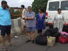 पटना में बाढ़ का पानी उप मुख्यमंत्री सुशील कुमार मोदी के घर में घुसा, NDRF की टीम ने निकाला