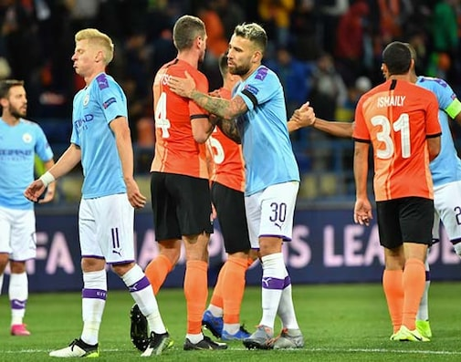 Manchester City Sink Shakhtar Donetsk Despite Injury Crisis