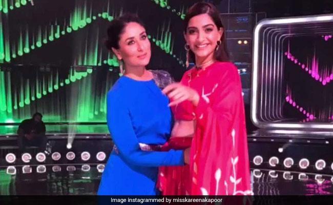 When Kareena Kapoor And Sonam Kapoor Recreated Tareefan On The Sets Of Dance India Dance