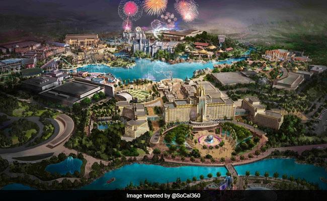 बीजिंग में खुलेगा दुनिया का सबसे बड़ा यूनिवर्सल स्टूडियो थीम पार्क
