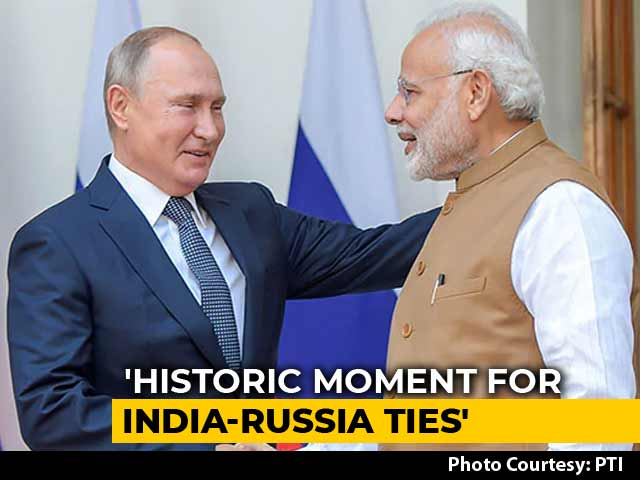 "Video : ""Russia, India Don't Interfere In Internal Matters Of Other Nations"": PM Modi"