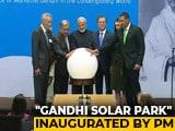 "Video : PM Modi Inaugurates ""Gandhi Solar Park"" At UN Headquarters"