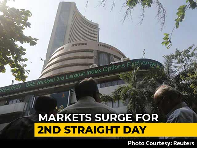 Video : Sensex Surges 1,075 Points To End At Two-Month High