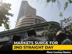 Video: Sensex Surges 1,075 Points To End At Two-Month High