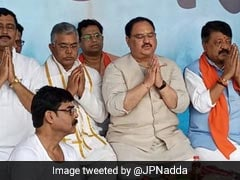 """Jungle <i>Raj</i>, Reign Of Terror In Bengal"": BJP's JP Nadda Visits Kolkata"