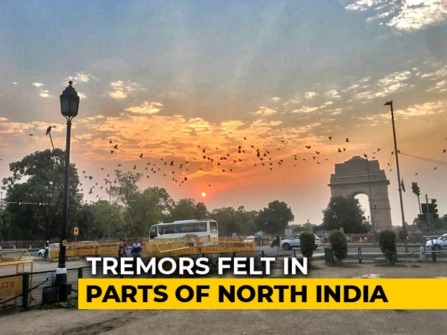 Video : Tremors In Delhi, Parts Of North India After 6.3 Magnitude Earthquake Near Lahore