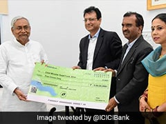 ICICI Bank Donates Rs 5 Crore To Bihar Chief Minister's Relief Fund