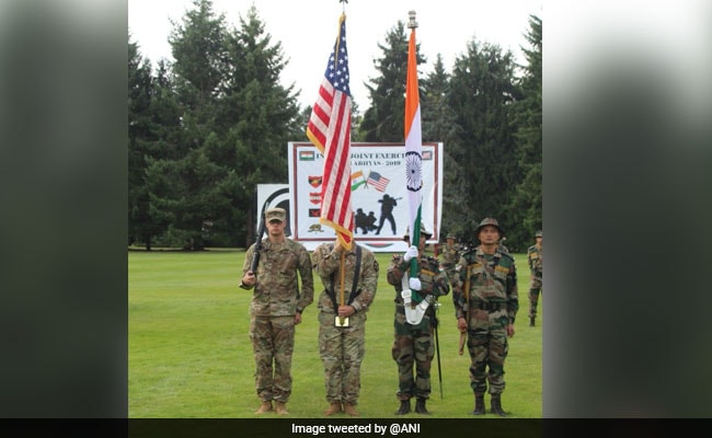India-US Begin Joint Military Exercise As Part Of Yudh Abhyas 2019
