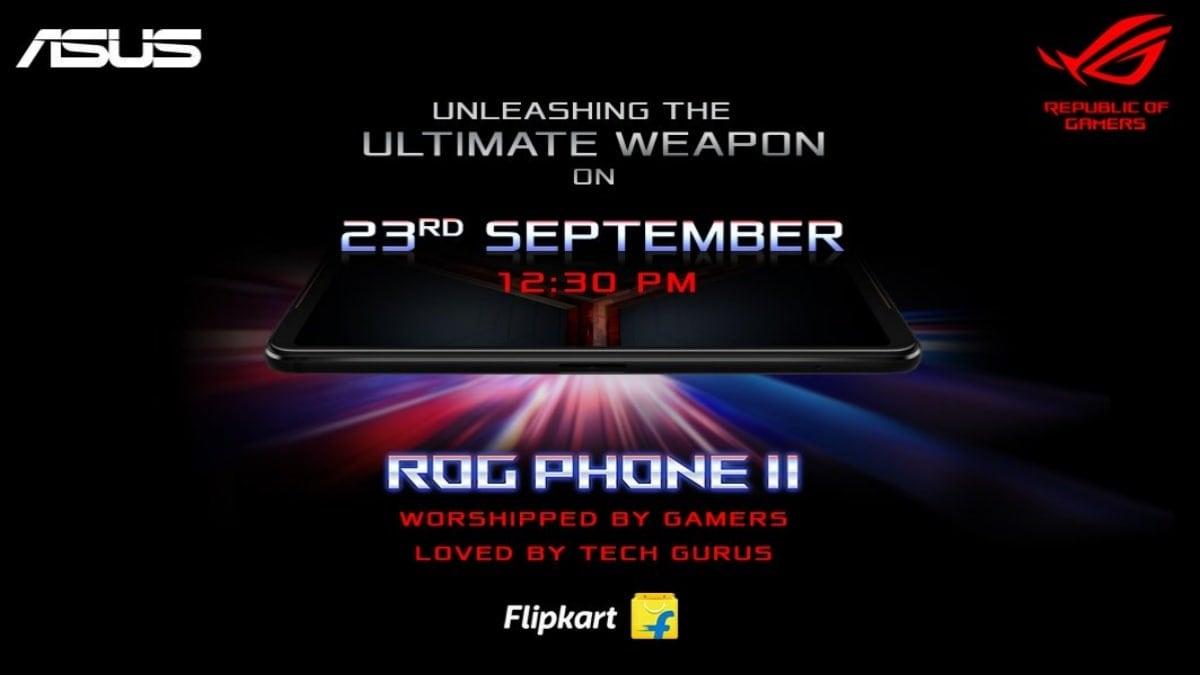 Asus ROG Phone 2 भारत में 23 सितंबर को होगा लॉन्च