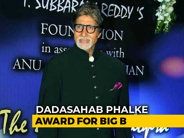 Video : Amitabh Bachchan Selected For Dadasaheb Phalke Award