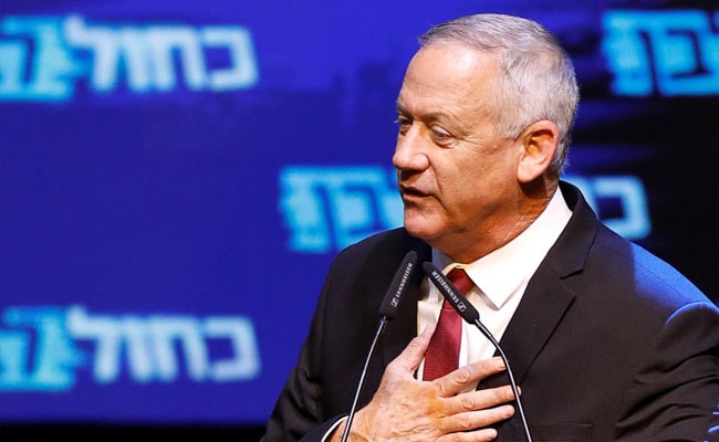Who Is Benny Gantz? Israel's Ex-Military Chief, Front-Runner For PM Post