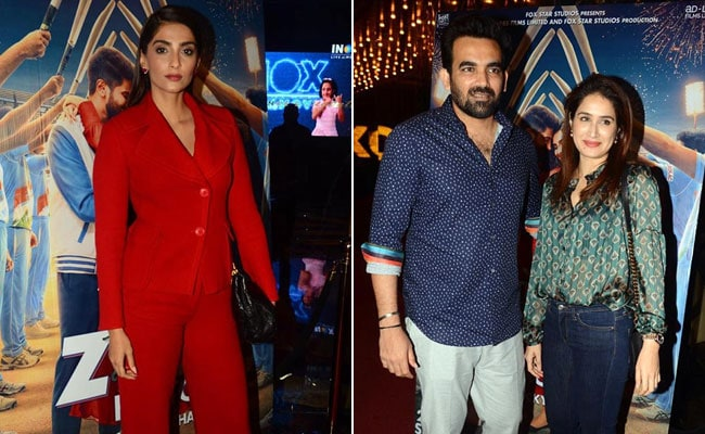 The Zoya Factor: Sonam Kapoor Invites Zaheer Khan, Sagarika Ghatge And Others To Screening