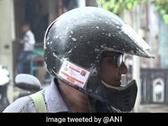 Vadodara Man Sticks Driving License, Insurance On Helmet To Avoid Fines
